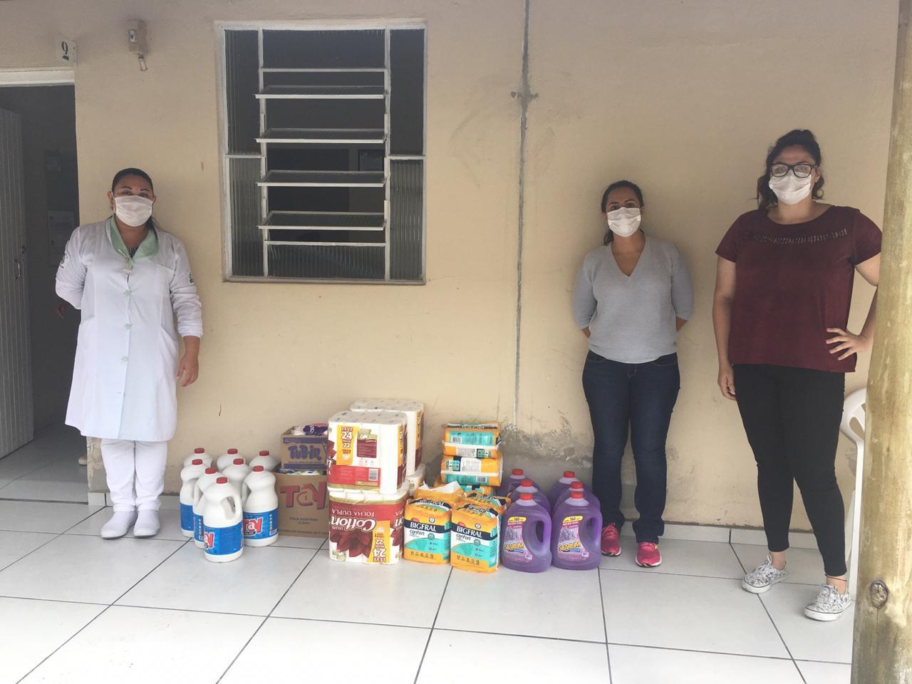 Unidade Lorena - Projeto Uniação – alunos do projeto de reforma em instituições sociais realizaram arrecadação durante a pandemia