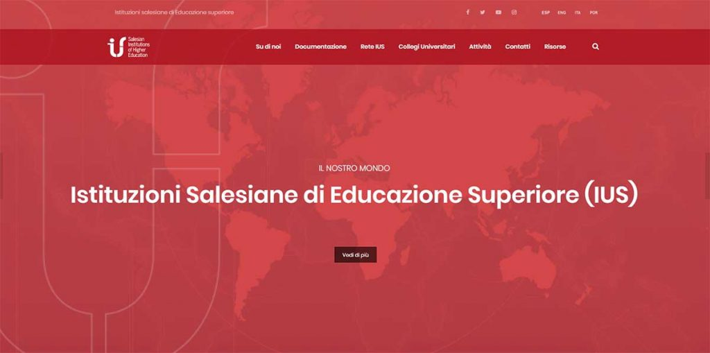 RMG – Novo portal web das Instituições Salesianas de Ensino Superior (IUS)