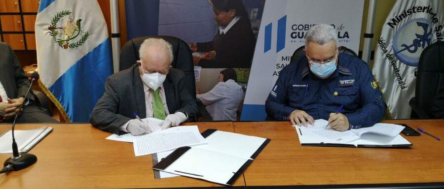 Authorities of the Universidad Mesoamericana of Guatemala