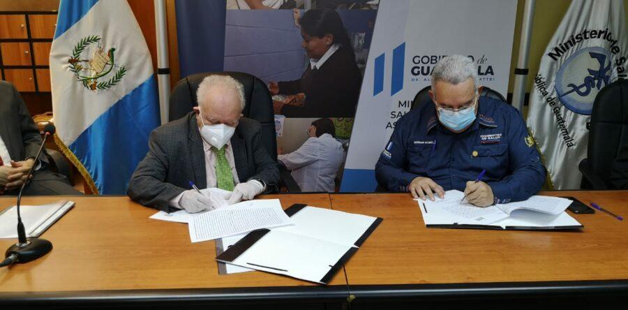 Firma de Convenio - Universidad Mesoamericana de Guatemala