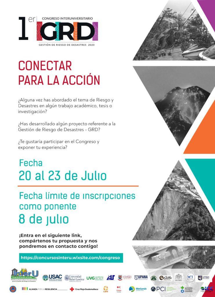 Primer Congreso Interuniversitario para la Gestión del Riesgo de Desastres - Guatemala