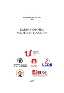 Cover of the book Salesian Charism and Higher Education published by the Salesian Polytehcnic University of Ecuador