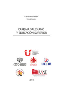 "Book cover of the book ""Carismo Salesiano y Educación Superior"" published by ""Salesian Polythecnic University of Ecuador"""