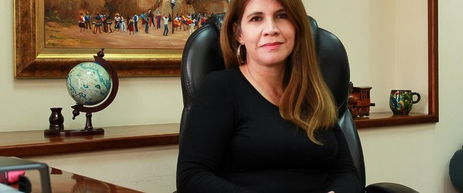 María Sol Villagómez is appointed as the new vice-chancellor of the Salesian Polythenic UniversityQuito campus.