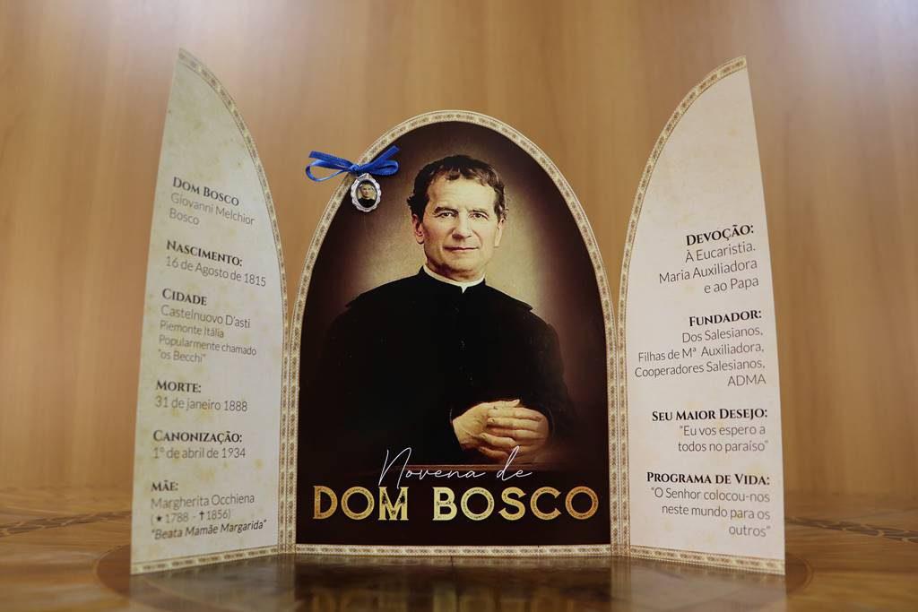 Brasil - Agosto: mês do nascimento de Dom Bosco, fundador da Família Salesiana