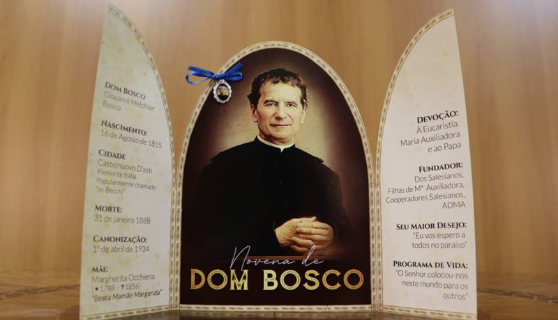 Image of Don Bosco founder of the Salesian Family