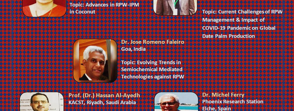 International webinar on Advances in RPW Research and Management, Asia and Europe