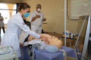 Unisalesiano students return to practices, Brasil