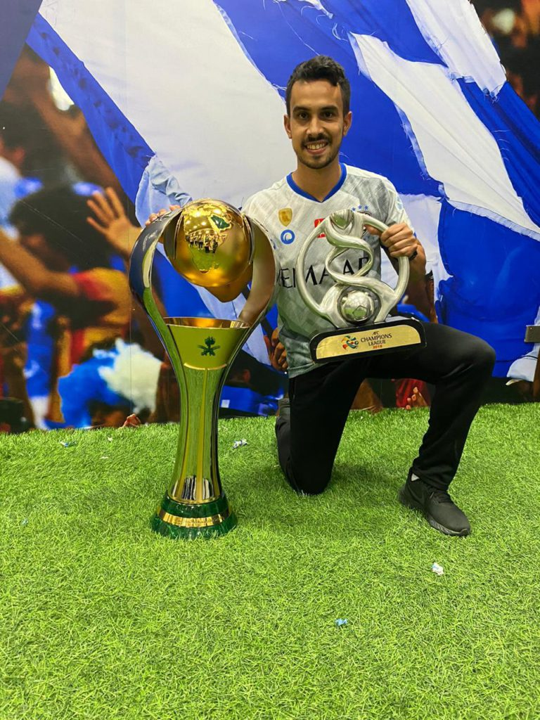 Brazil - Physiotherapist from UniSALESIANO fulfills his dream at Al-Hilal Saudi F.C