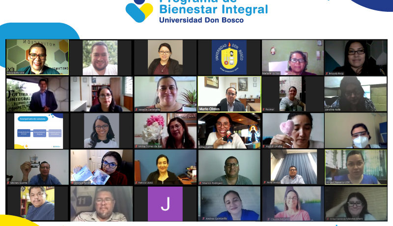 Programa de Bienestar Integral, Universidad Don Bosco, El Salvador