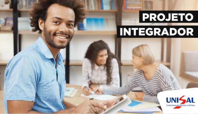 Students of the Projeto Integrador do , Brasil
