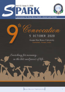 Spark Ninth Convocation Issue Assam Don Bosco University, India