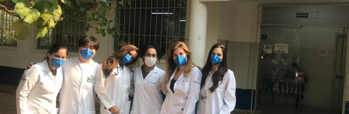 Unisalesiano Medical students return to clinical activities