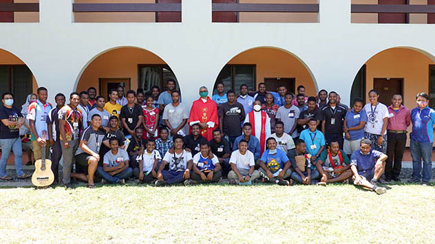 Youth Retreat for Graduating students from Don Bosco Technological Institute, Port Moresby Papua New Guinea