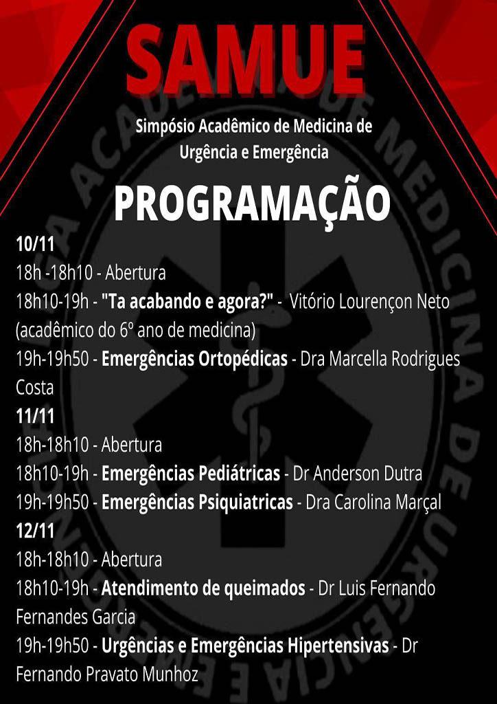 1º Simpósio Acadêmico de Medicina de Urgência e Emergência terá participação de médicos renomados
