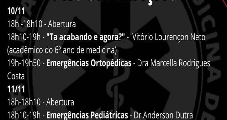 1º Simpósio Acadêmico de Medicina de Urgência e Emergência (SAMUE), Unisalesiano, Brasil
