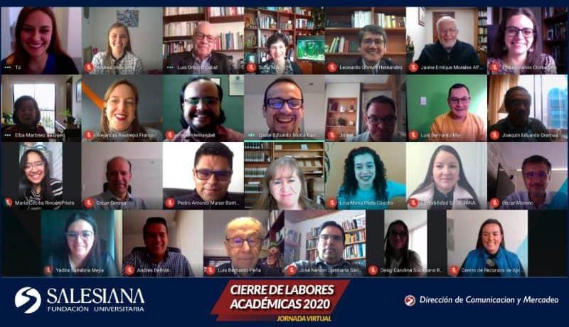 The Acamemic Comunity of the Fundación Universitaria SALESIANA 2020, Bogotá, Colombia.