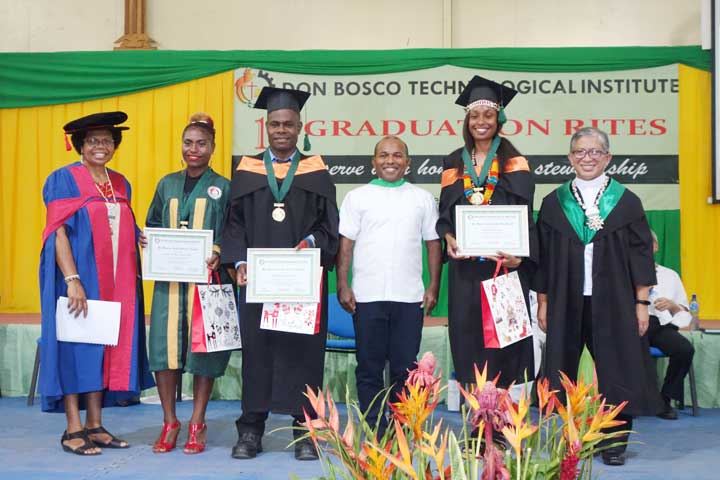 The Don Bosco Technological Institute celebrated the 19th Graduation Rite on Thursday 3 December, Port Moresby, Papua New Guinea