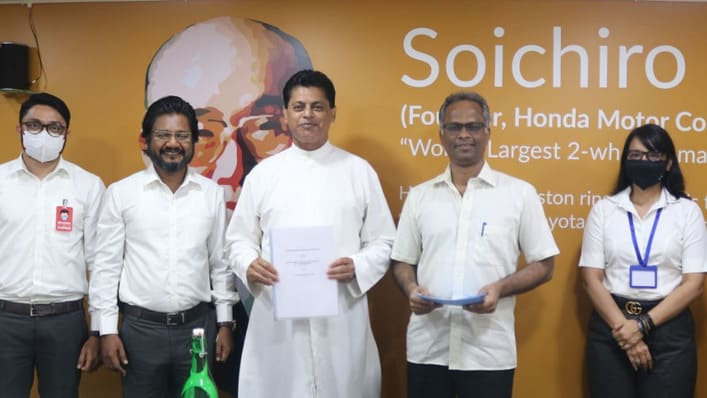 India - DBC Panjim signs new partnership of Entrepreneurship and Business Development for students.