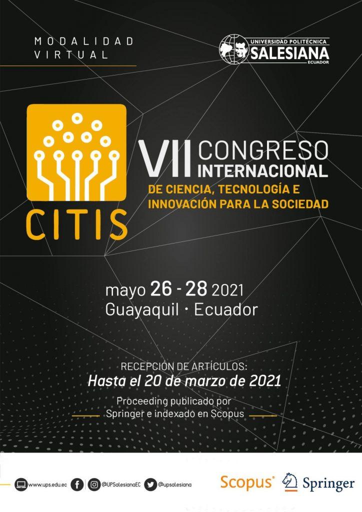 Convocatoria para el VII CITIS 2021