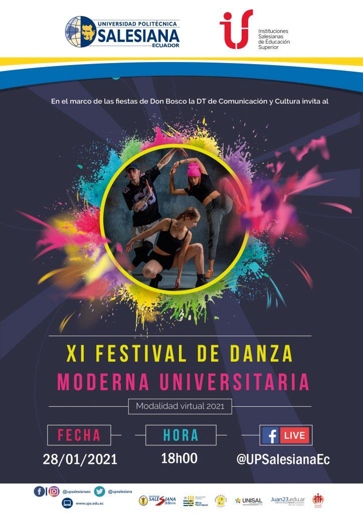 XI Festival de Danza Moderna Universitaria