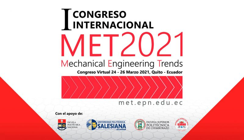 I Congreso Mechanical Engineering Trends – MET2021