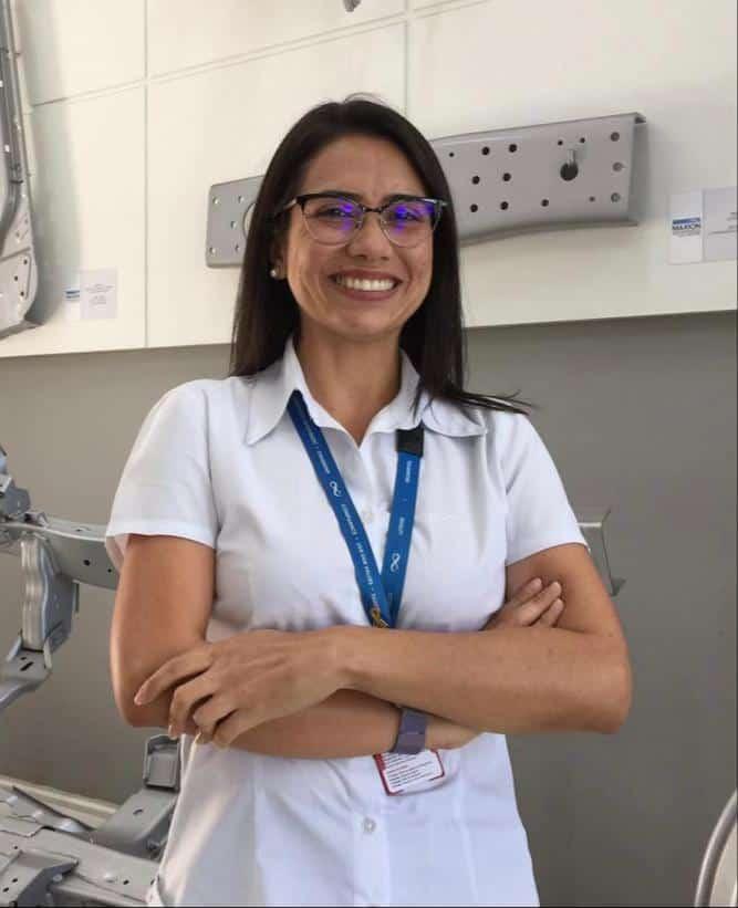 Brasil - Aluna UNISAL é a primeira mulher com cargo de liderança na linha de produção da empresa Maxion Structural Components, Unidade Cruzeiro em Brasil