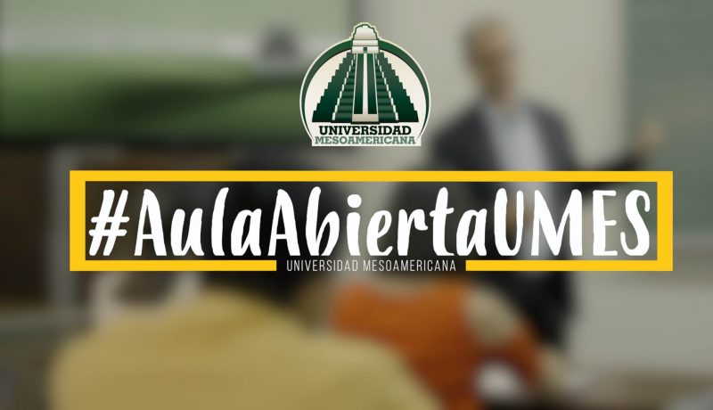 Programa AulaAbiertaUMES, Universidad Mesoamericana de Guatemala.