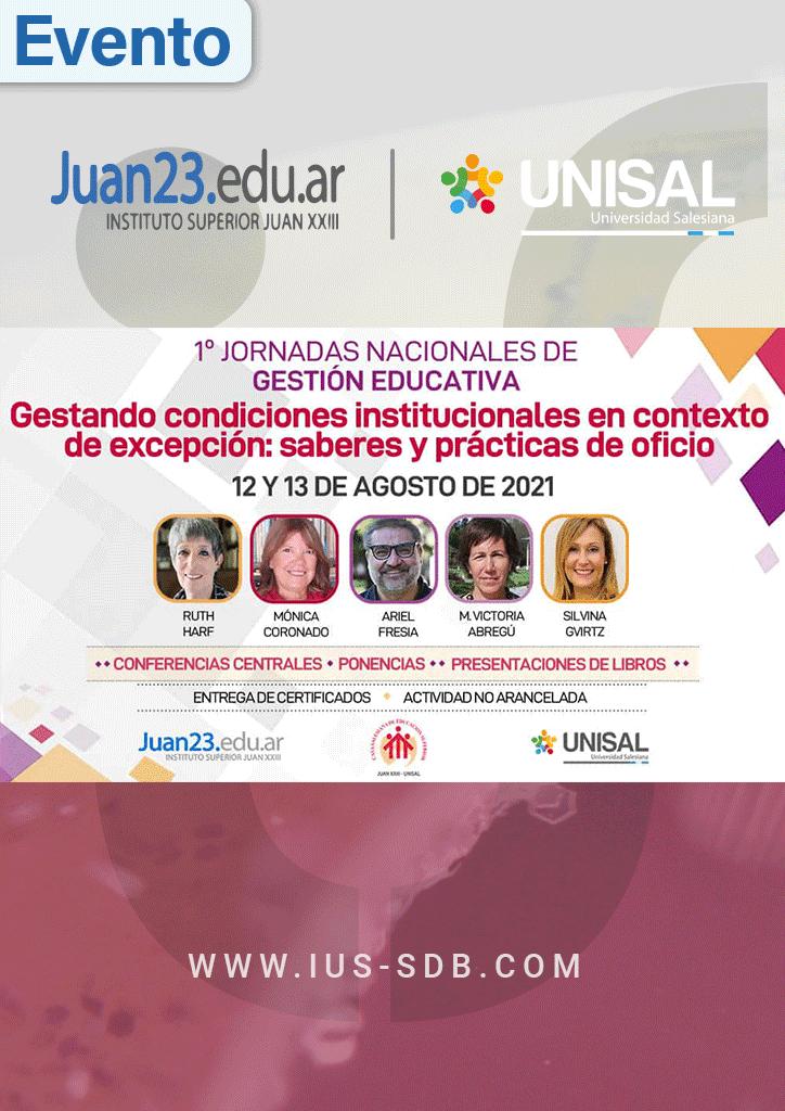 Argentina: 1º Jornadas de Gestión Educativa