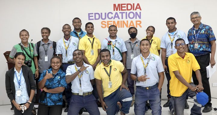 Participans and members of the 2nd Media Education Seminar conducted by Social Communication Commission (SOCOM)