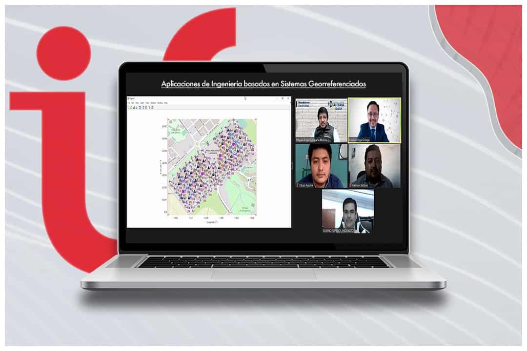 Taller virutal de Aplicaciones de Ingeniería basados en Sistemas Georreferenciados, Red IUS Redes Eléctricas y Ciudades Inteligentes (RECI)