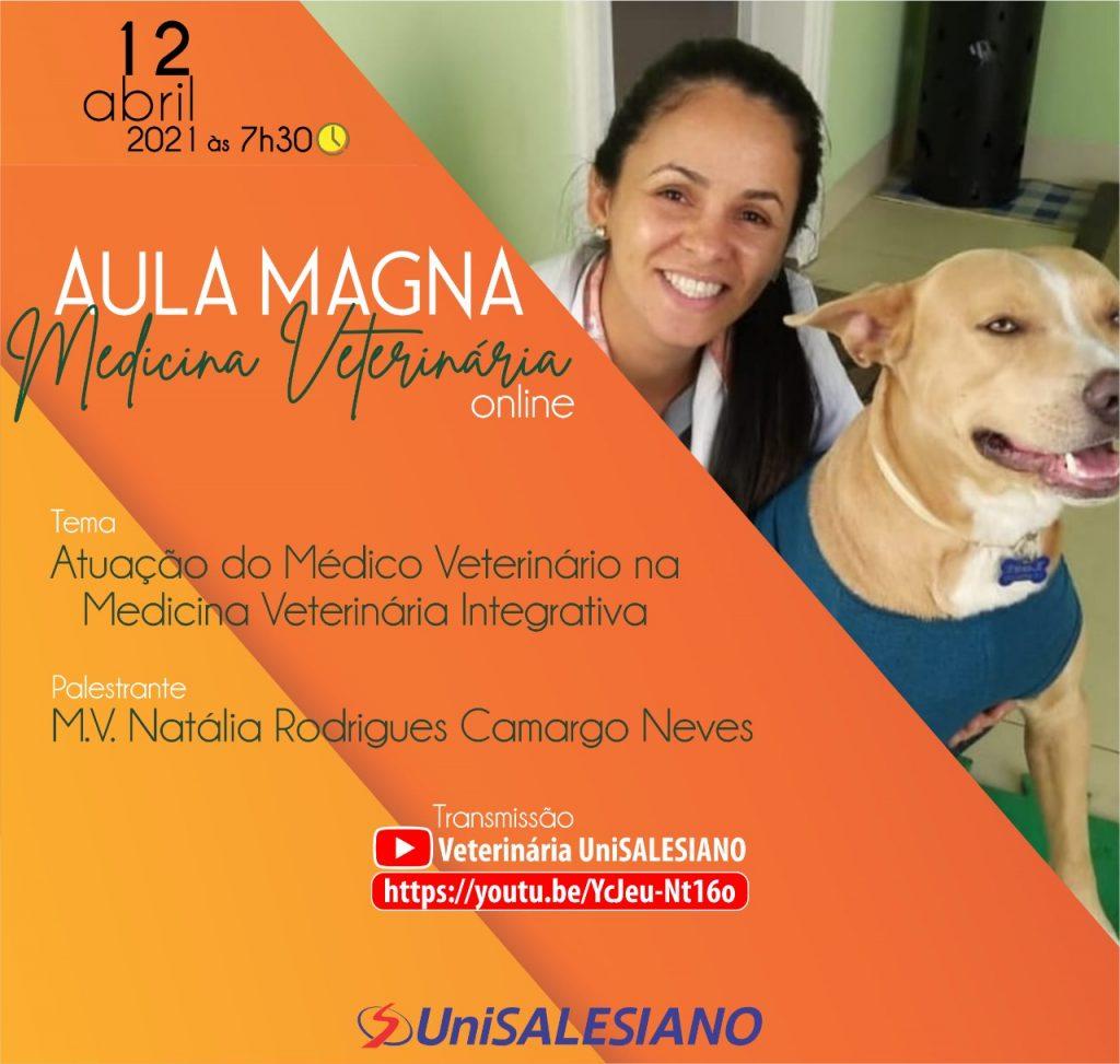 Brasil - Saúde do animal como um todo é destaque em Aula Magna de Medicina Veterinária