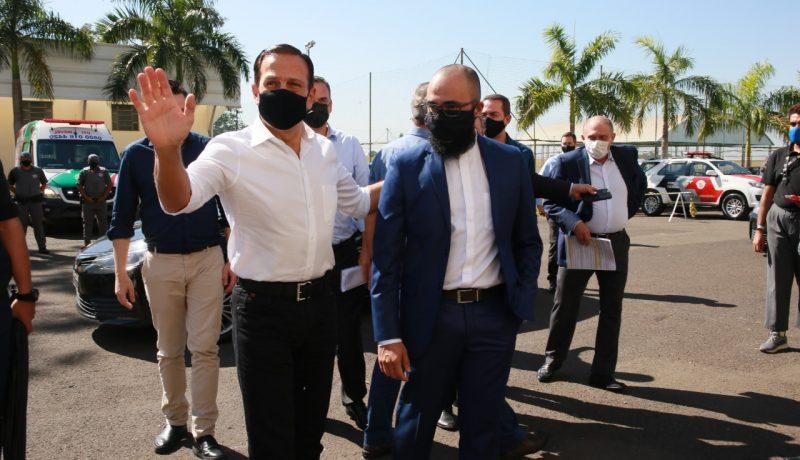 Diretor do UniSALESIANO recebe a visita do governador de São Paulo no Brasil