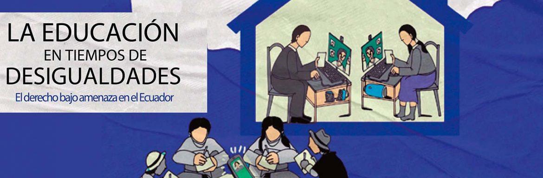 """Presentation of the book """"Educación en tiempos de desigualdades. El derecho bajo amenaza en el Ecuador"""", Universidad Politécnica Salesiana Del Ecuador"""