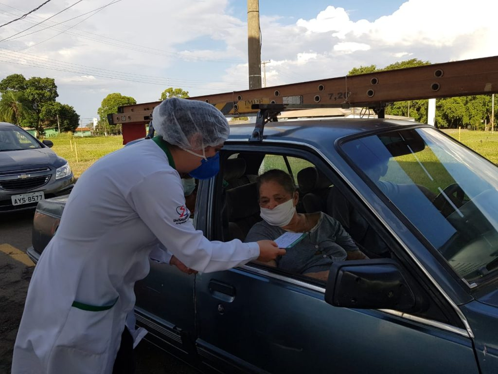 Brasil - 160 alunos de Medicina participam da campanha de vacinação contra a Covid-19 em Araçatuba