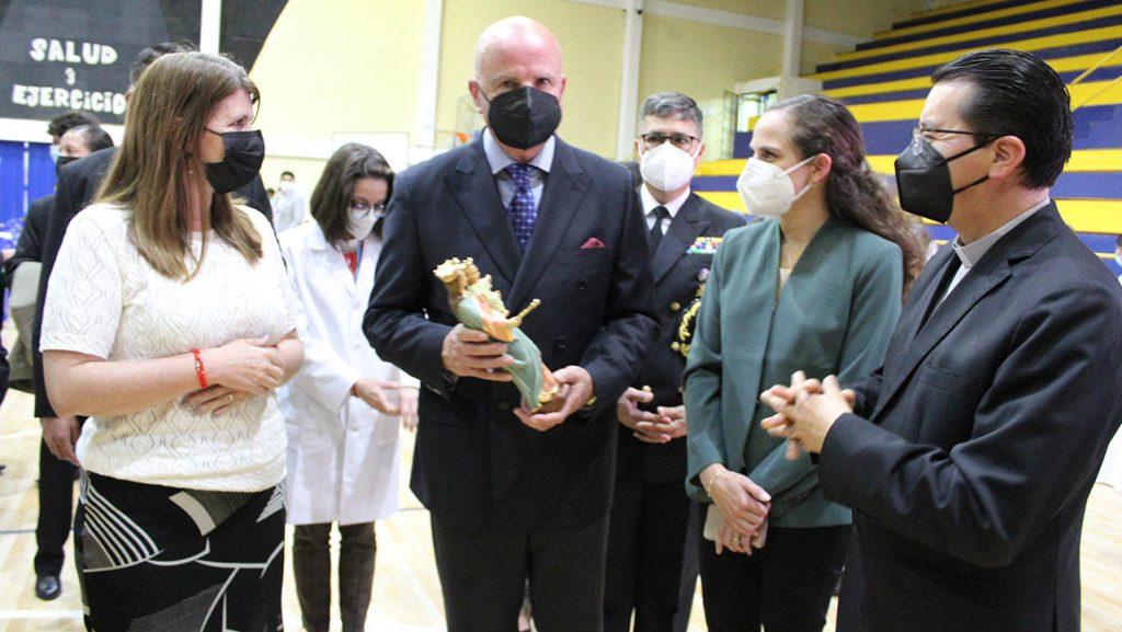 Ecuador - Presidente del Ecuador socializa Plan de Vacunación 9/100 desde el coliseo del campus El Girón de la sede Quito