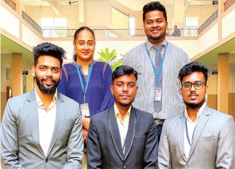 students of the Department of Electronics and Telecommunication at Don Bosco College of Engineering (DBCE) Fatorda, Goa, was adjudged the best project at the 5th National Level IEEE Project Competition organized by Geetha Shishu Shikshana Sangha (GSSS) Institute of Engineering and Technology for Women, Mysuru, on June 26, 2021.