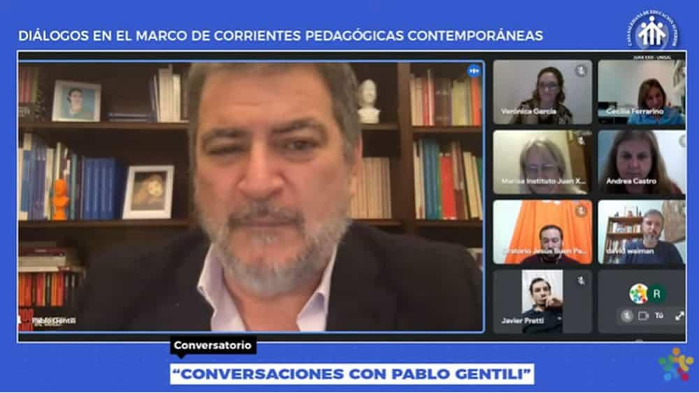 """Argentina - Conversatorio UNISAL: """"Es imposible en América Latina hablar de educación sin hablar de desigualdad""""."""