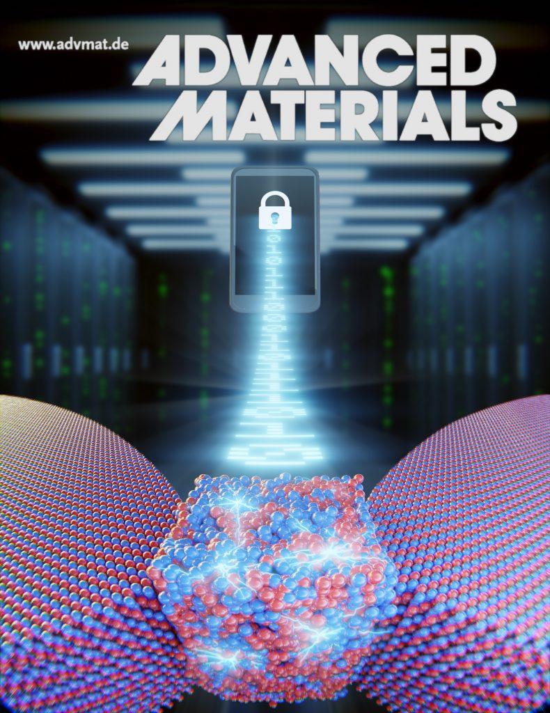 El profesor Mario Lanza de la EUSSS es portada de la revista Científica Advanced Materials