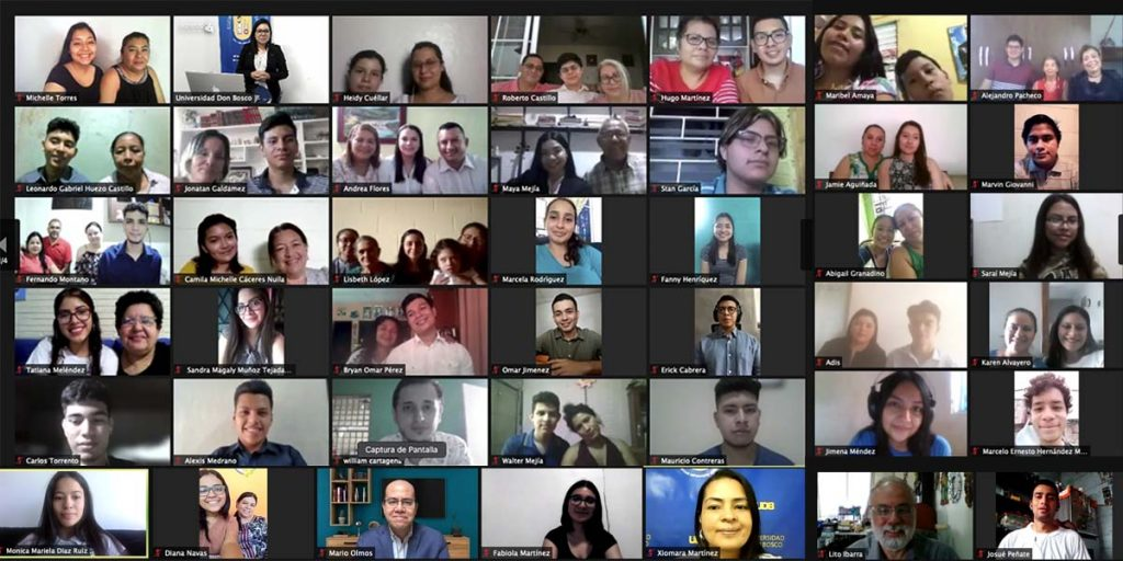 El Salvador - Universidad Don Bosco e instituciones benefactoras cumplen sueño a más de 100 jóvenes con deseos de estudiar una carrera universitaria