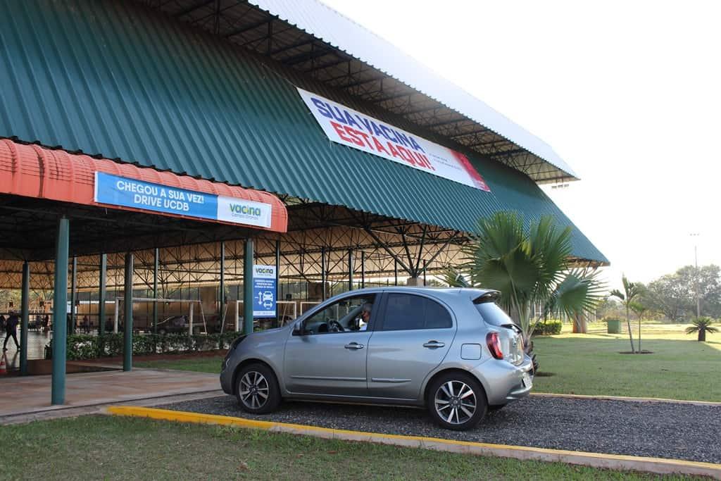 Com Drive UNIVERSIDADE CATÓLICA DOM BOSCO (UCDB), Campo Grande atingirá 20 mil doses de vacina por dia
