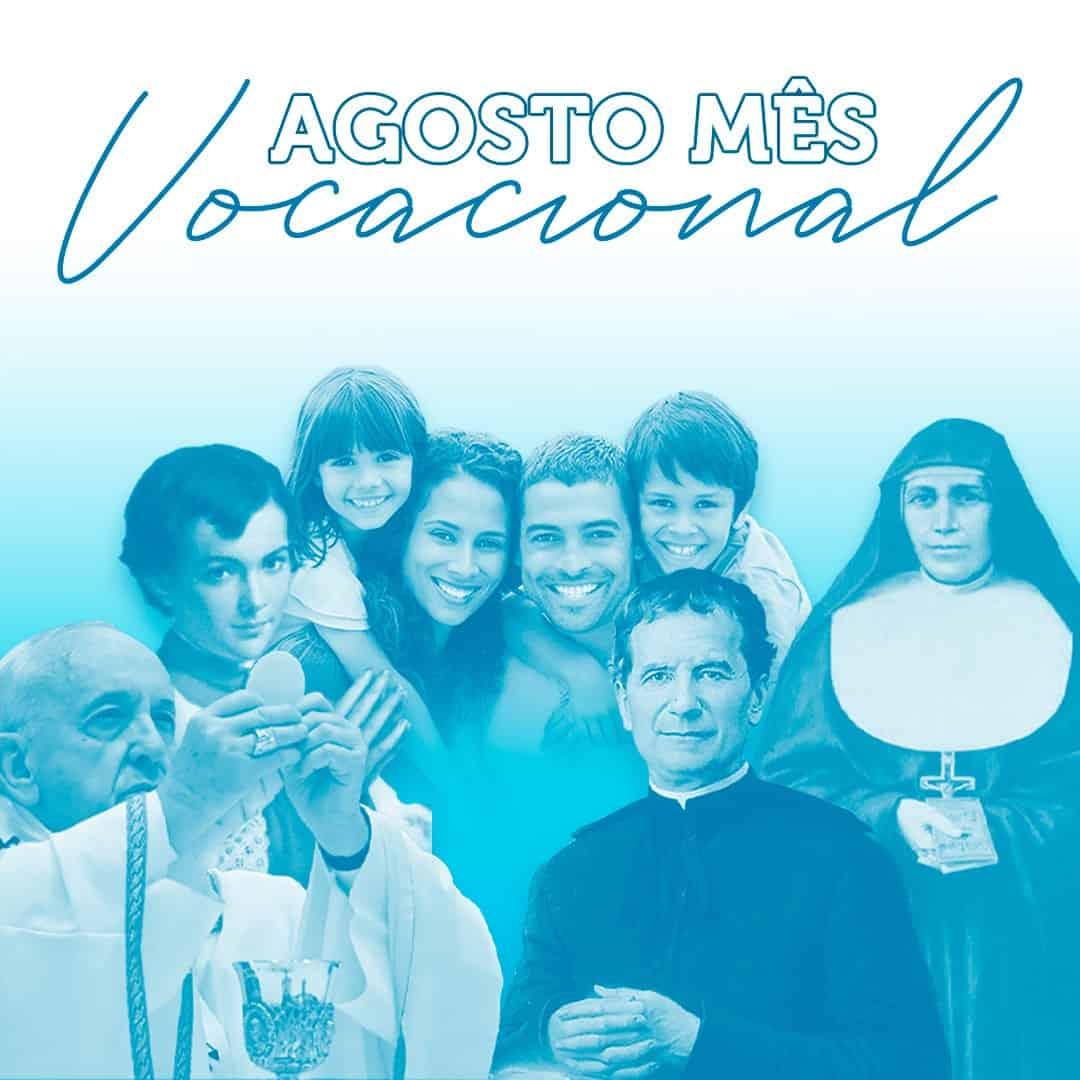 mês de agosto, o mês vocacional em unisalesiano, Brasil