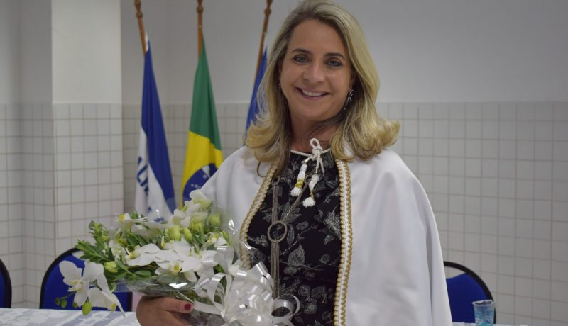 nova reitora do Centro Universitário Salesiano- UniSales, profª Carmen Luiza da Silva