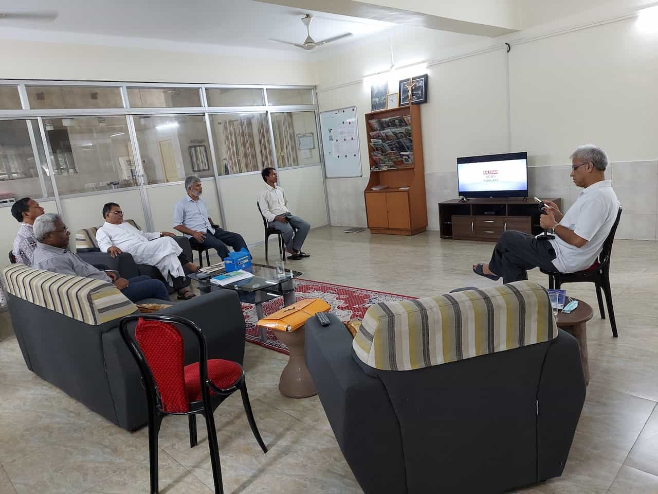 Salesian News Asia-Pacific, produced for Boscom South Asia by Radio Salesian 90.8FM is visited by the Calcutta Salesian Provincial Team Visit - Provincial, Vice Provincial and Economer, at Salesian College Siliguri residence
