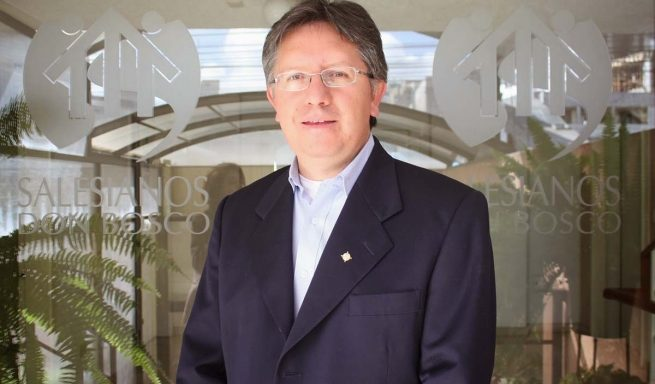 Padre Salesiano Marcelo Farfán