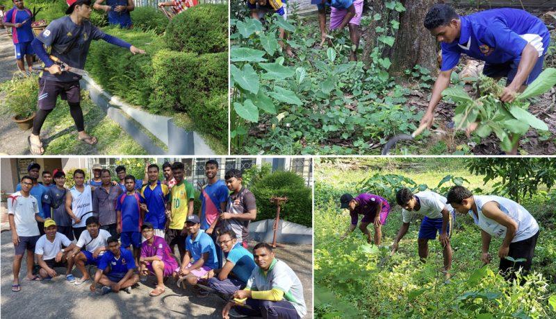 One-week Student work camp organized at Salesian College Sonada & Siliguri