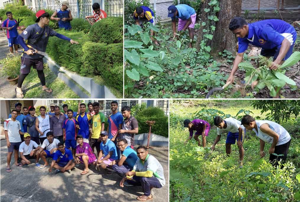 India - One-week Student work camp organized at Salesian College Sonada & Siliguri
